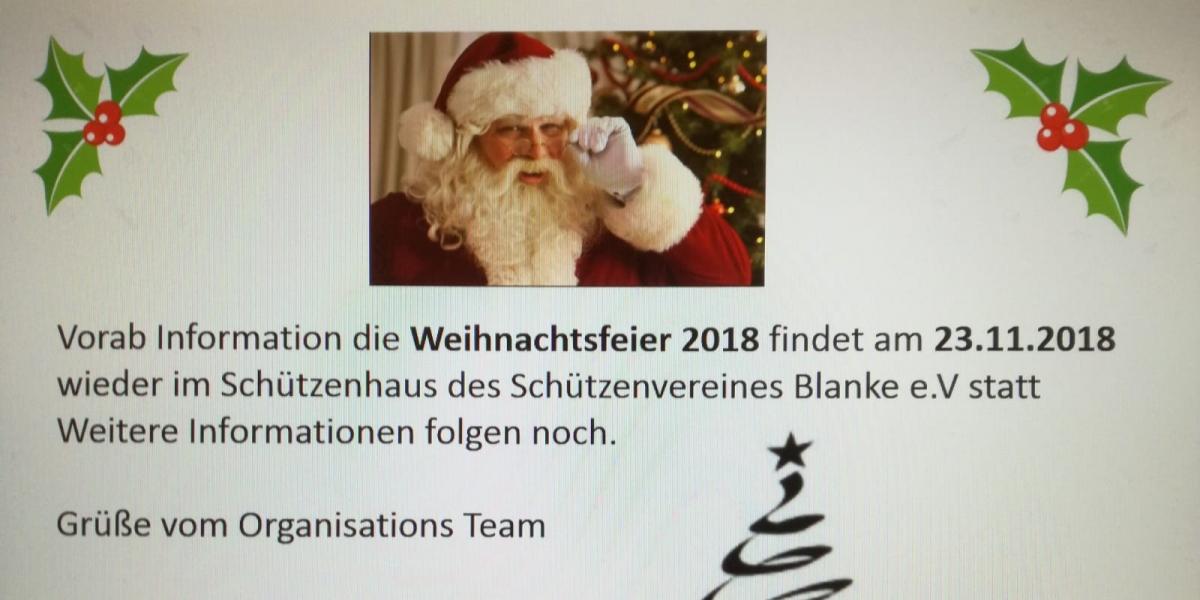 Weihnachtsfeier Nordhorn.Weihnachtsfeier